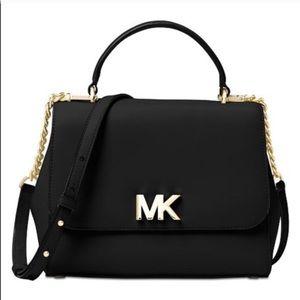 Michael Kors Mott Medium Leather Crossbody Bag
